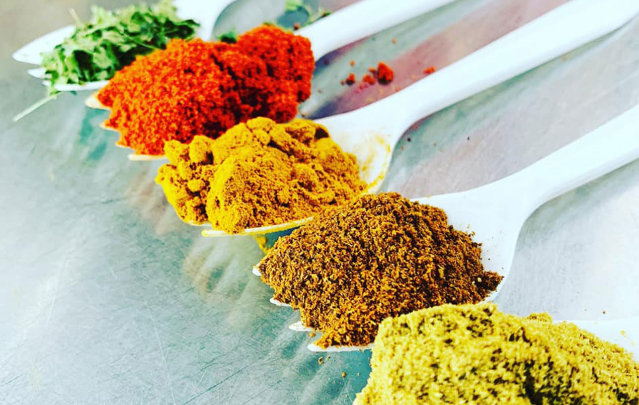 Indian Food Spices | I Love Curry Naples, Florida Indian Food Truck